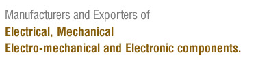 electromechanical products manufacturer, electronic products supplier